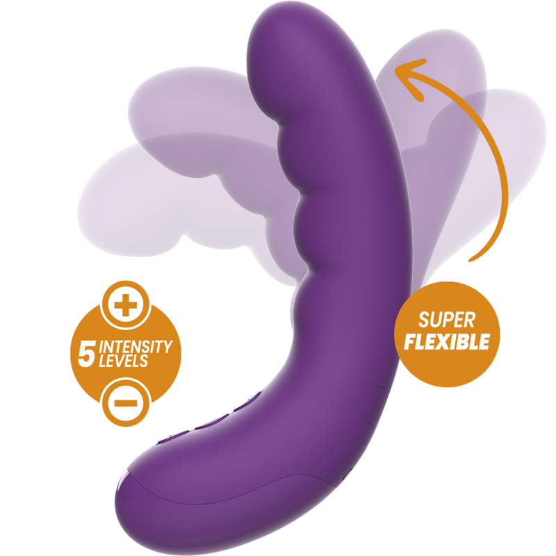 REWOLUTION-REWOCURVY-VIBRADOR-FLEXIBLE-RECARGABLE