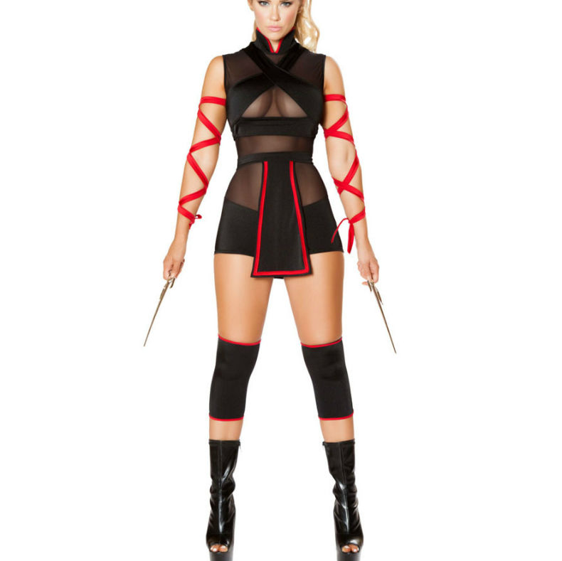 QUEEN-COSTUME--NINJA-SET-3-PCS-M