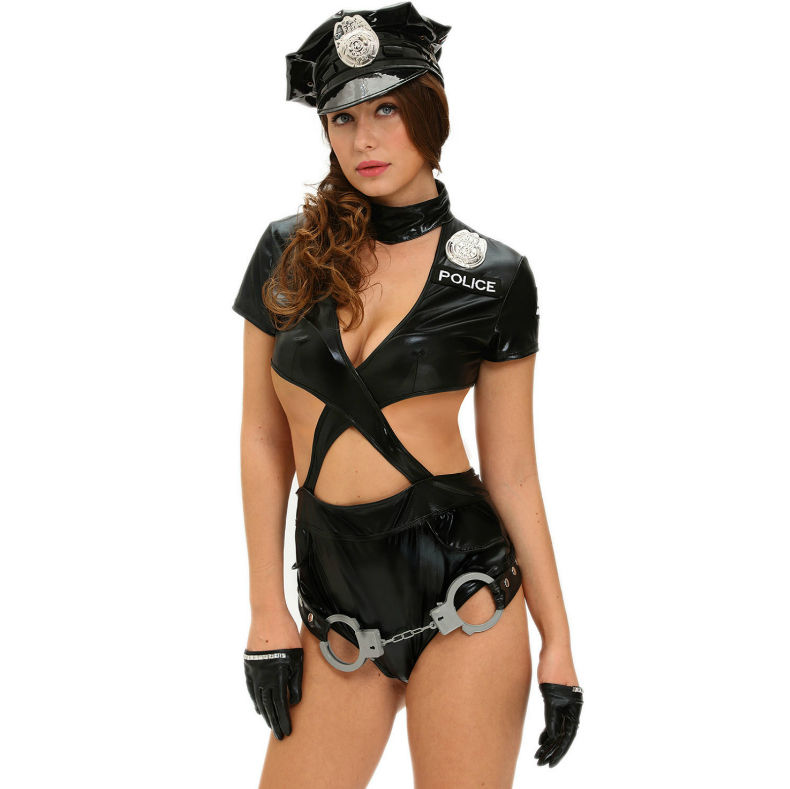 QUEEN-COSTUME-SEXY-POLICE-WOMAN-5-PCS-M