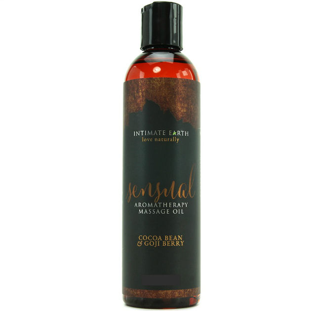 INTIMATE-EARTH-ACEITE-MASAJE-AROMATERAPIA-CACAO-Y-BAYA-120ML