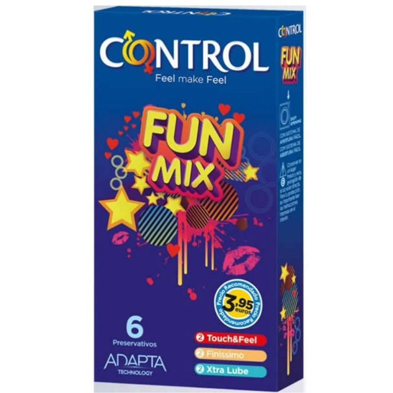 CONTROL-FEEL-FUN-MIX--6-UDS