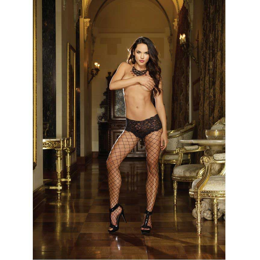 BLACK-DIAMOND-PANTYHOUSE-NEGRO-STYLE-0029-TALLA-UNICA