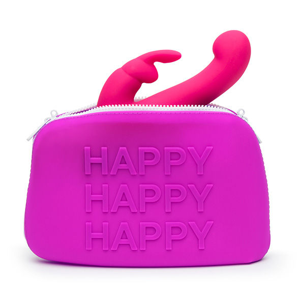 HAPPY-RABBIT-BOLSA-TRANSPORTE-DE-SILICONA-GRANDE-LILA