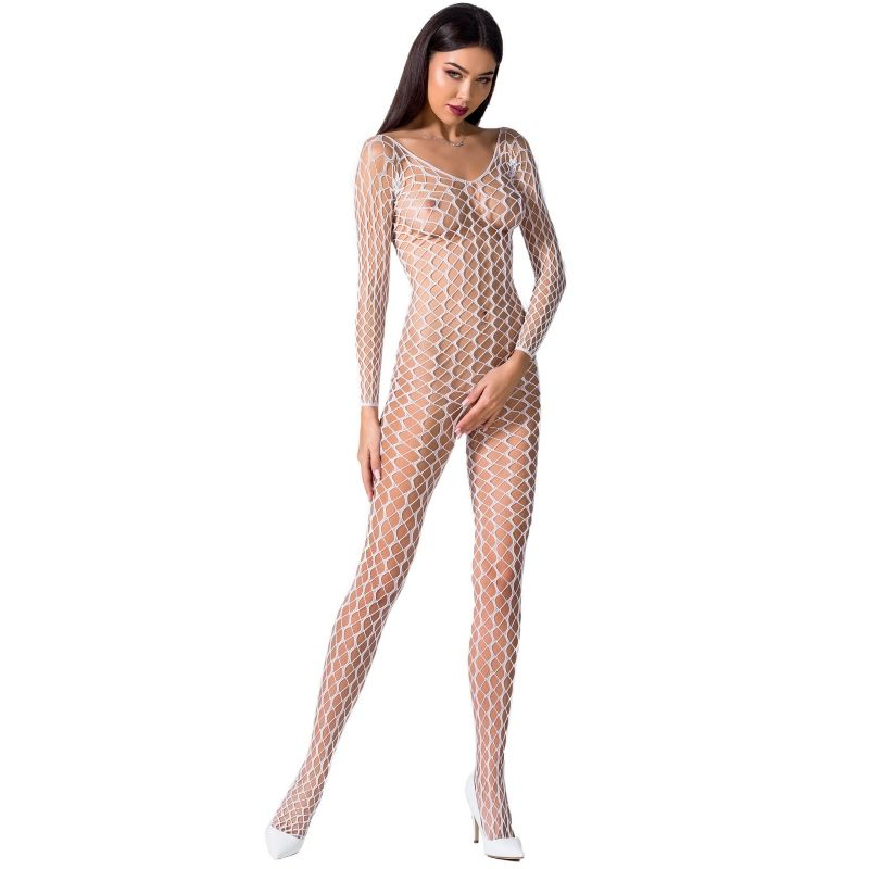 PASSION WOMAN BS068 BODYSTOCKING NEGRO TALLA UNICA