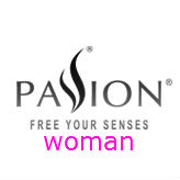 Logo marca Passion Woman en Sex Shop One