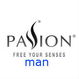 Logo marca Passion Man en Sex Shop One